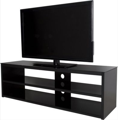 AVF Muritz 1400 High Gloss TV Stand For TVs up to 70 inch - Black