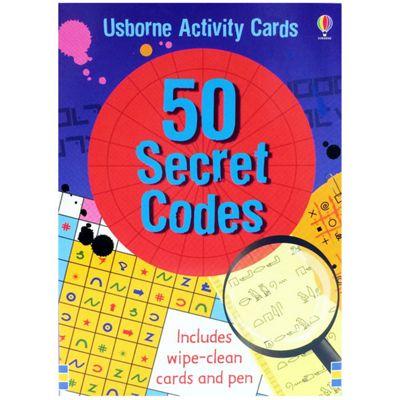 Usborne 50 Secret Codes Activity Cards