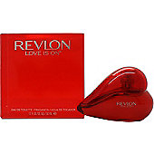Revlon Love Is On Eau de Toilette (EDT) 50ml Spray For Women