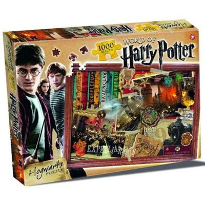 Harry Potter 1000 Piece Jigsaw Puzzle Hogwarts