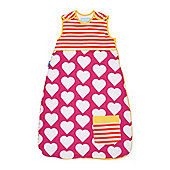 Grobag Baby Sleeping Bag - Pocketful of Love 1.0 tog (0-6 months)