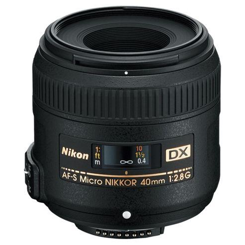 Nikon 40MM F2.8G AF-S DX MICRO ED Lens
