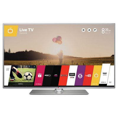 LG 32LB650V 32 Inch 3D Smart WebOS WiFi Built In Full HD 1080p LED TV with Freeview HD - Silver