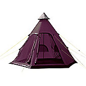 Yellowstone Festival 4 Tipi Tent - Plum