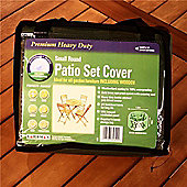Gardman 2-4 Seater Round Patio Set Cover- Green