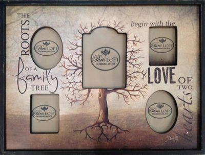 Family Tree 5 Photo Frame