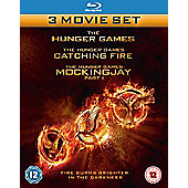 The Hunger Games: Triple Pack Blu-Ray 3disc