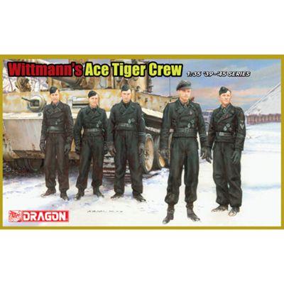 DRAGON 6831 Wittman's Ace Tiger Crew Figures 1:35 Military Model Kit