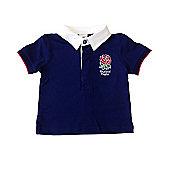 England RFU Rugby Baby Classic Polo Shirt - Blue