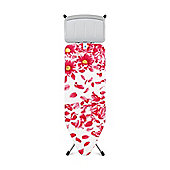 Brabantia Pink Santini 124x45cm Ironing Board with Solid Steam Rest