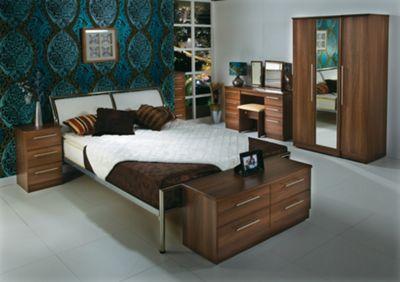 Welcome Furniture Sherwood 3 Drawer Deep Chest - Walnut