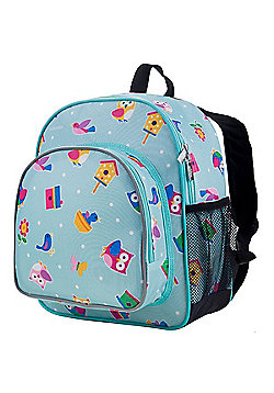 Toddler Backpack - Owls & Bird Houses
