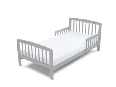 Poppys Playground Eve - Grey Junior Toddler Bed & Deluxe Sprung Mattress