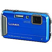 Panasonic DMC-FT30 16.1MP 720pHD Camera with 2.7LCD - Blue