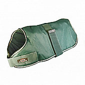 Outhwaite Waterproof Dog Coat Padded Lining - Green 30cm