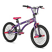 "X-GAMES BMX FS 20"" F PURPLE/PINK"