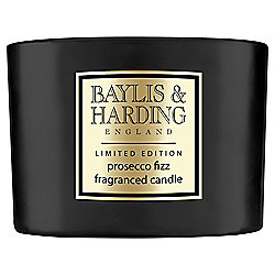 Baylis & Harding Prosecco Fizz Scented 3-Wick Candle