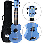 Mahalo 2511 Rainbow Soprano Ukulele - Light Blue