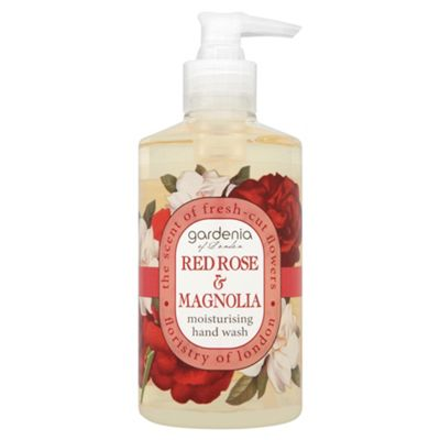 Gardenia of London Red Rose & Magnolia Moisturising Hand Wash