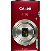 Canon IXUS 175 20.0 MP Compact Digital Camera Red