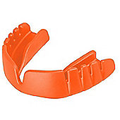Opro Snap-Fit Junior Mouth Guard - Fluro Orange - Orange