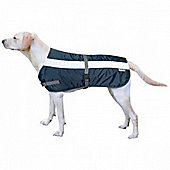 Flectalon Hi Viz Dog Coat Blue 35cm
