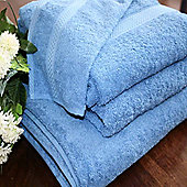 Homescapes Turkish Cotton Cobalt Blue Face Towel
