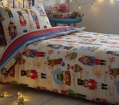 Nutcracker Toddler Bedding