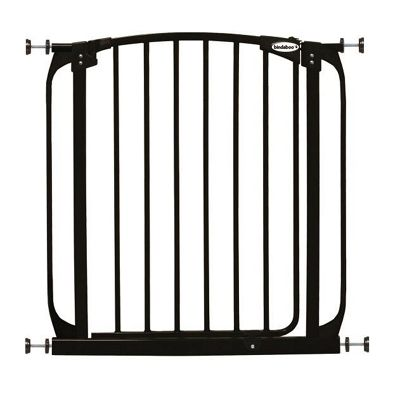 Bindaboo Easy Close Pet Security Gate Black