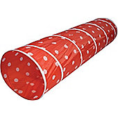 Red Polka Dot Play Tunnel