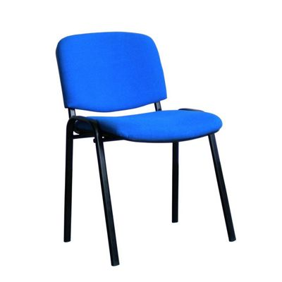 Eliza Tinsley Black framed stackable conference/meeting chair