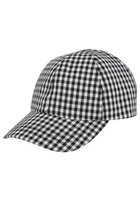 F&F Gingham Cap White One Size