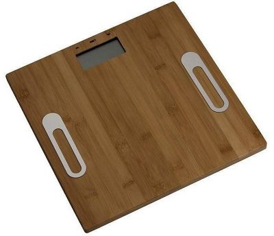 Telefunken Bamboo Style Digital Weight and Bodyfat Bathroom Scales