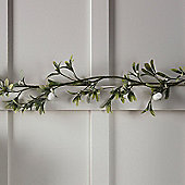 1.8m Frosted Mistletoe Artificial Christmas Garland