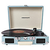 Crosley Cruiser Turntable Retro Record Player - Blue Turquoise