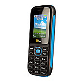 TTsims Dual Sim TT120 Mobile Phone with Camera and Bluetooth - Blue