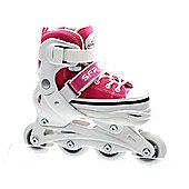 SFR Camden Adjustable Inline Skates - Pink - Pink