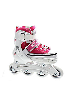 SFR Pulsar Adjustable Recreational Inline Skates - Pink