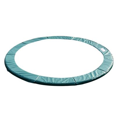 Homcom 12ft Replacement Trampoline Pad Thick Foam Safety Spring Cover Padding - Green