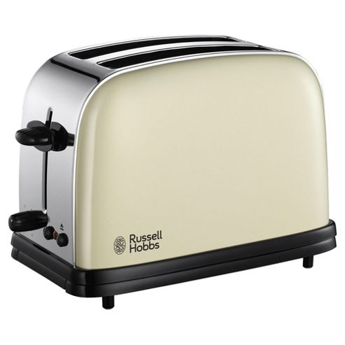 Russell Hobbs Colours 2 Slice Toaster - Cream