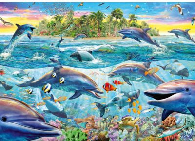 Dolphin Reef - 500pc Puzzle