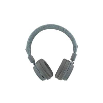 BeeWi GroundBee Bluetooth Stereo (+ Wired) Headphones (Grey)