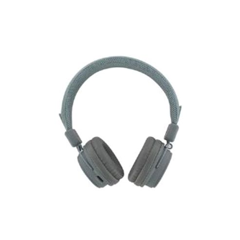 BeeWi GroundBee Bluetooth Stereo (+ Wired) Headphones (Grey)