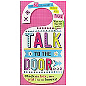 Make Believe Ideas Talk To The Door Hangers Book