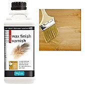 Polyvine Wax Finish Varnish - Satin - 1 Litre