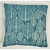 Mason Grey Kirkton Teal Cushion Cover - 43x43cm