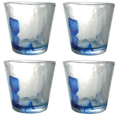 Bormioli Rocco Murano Water / Juice Tumbler Glasses - 270ml - Set of 4