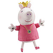 Peppa Pig Singing Princess Peppa Soft Toy