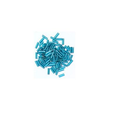 Impex Bugle Beads Ice Blue 8 Grams