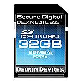 Delkin DDSDELITE633-32GB Secure Digital Elite Memory Card 633x